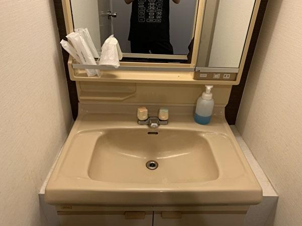 伊香保グランドホテルの洗面台