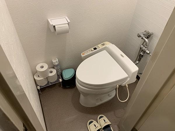 伊香保グランドホテルの部屋のトイレ