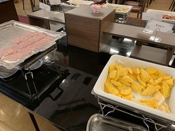 伊香保グランドホテルのバイキング料理